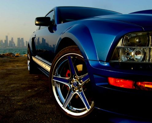 Mustang GT als Hochzeitsauto