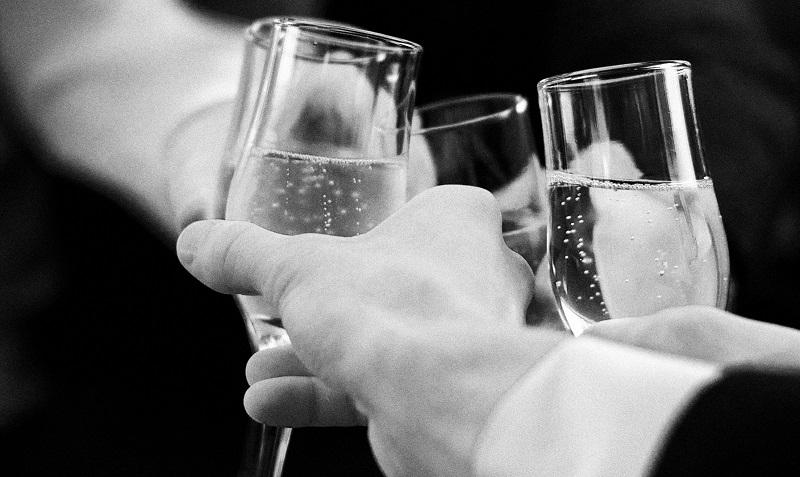 Trinkspruch des Bräutigams am Ende der Hochzeitsrede