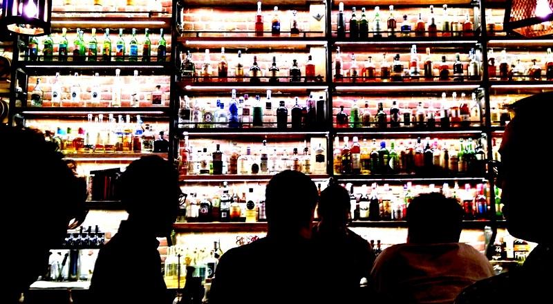 Bar mit großer Auswahl