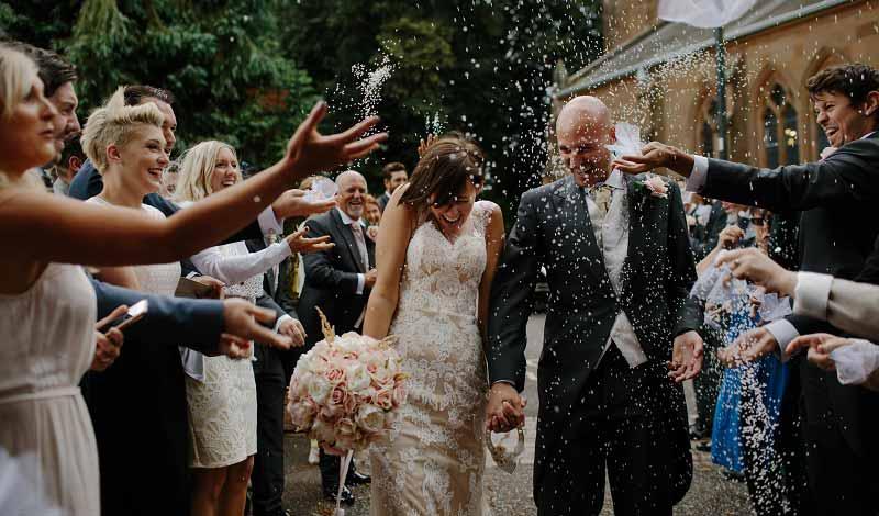 Hochzeitsgäste-Brautpaar-Gästeliste