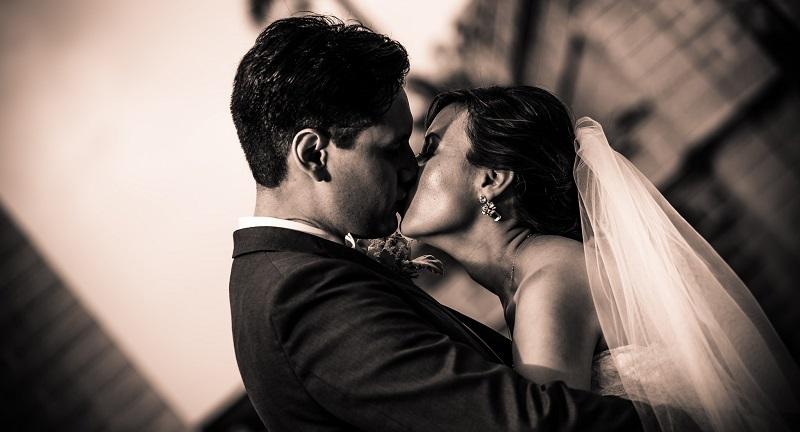 Hochzeitstag Bräutigam