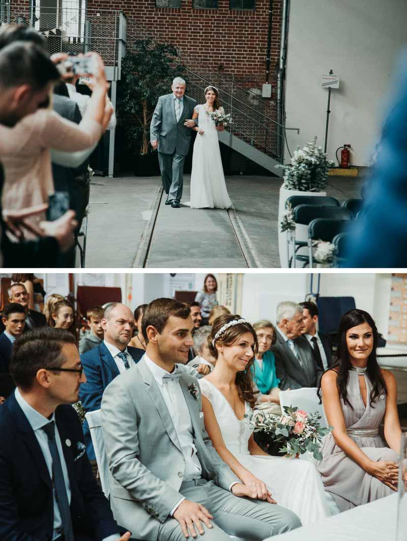 Bräutigam-und-Braut-bei-Hochzeit